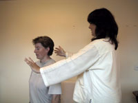 Sarah practising Buqi
